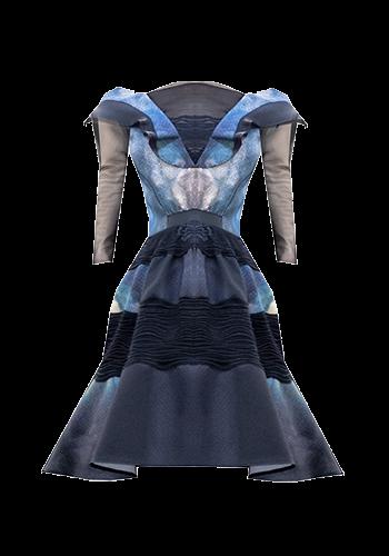 Haljina-pikseliziranog-uzorka-prod