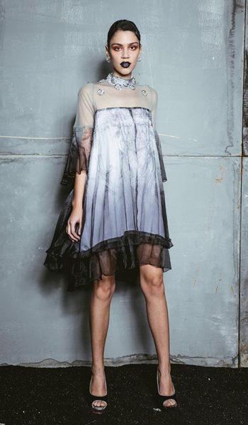 Plisirana-haljina-od-organdija