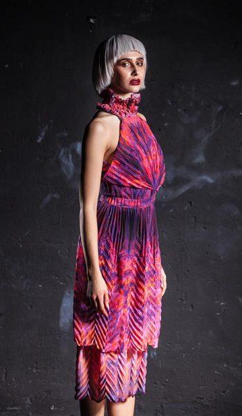 Plisirana-slojevita-haljina-1