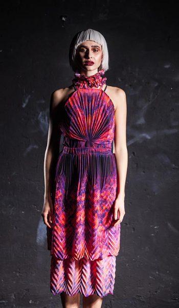 Plisirana-slojevita-haljina